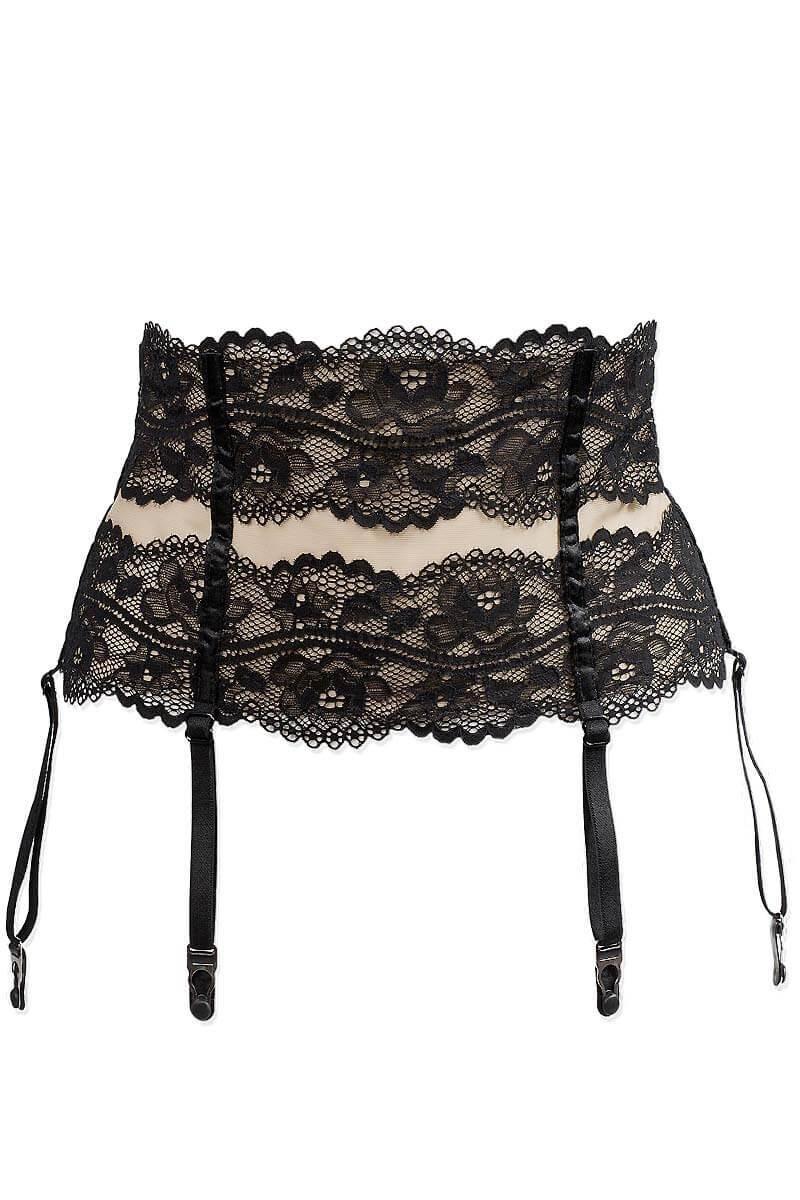 Top-of-the-range lingerie set Réglisse by Luxxa Lingerie