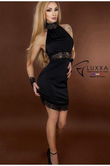 Robe moulante Réglisse par Luxxa Lingerie