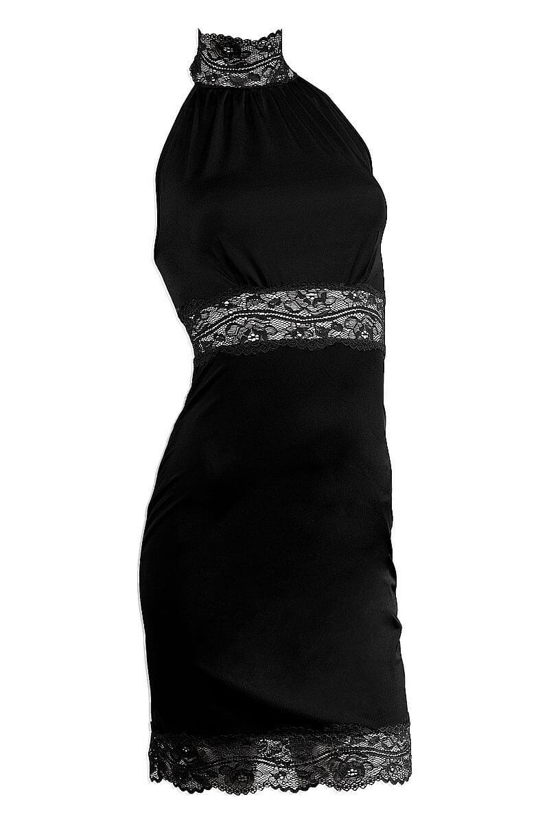 Short dress Réglisse by Luxxa Lingerie