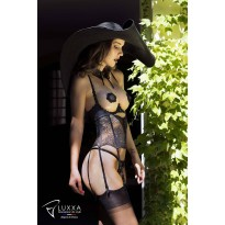 Uplifting breasts corset Capeline by Luxxa Lingerie