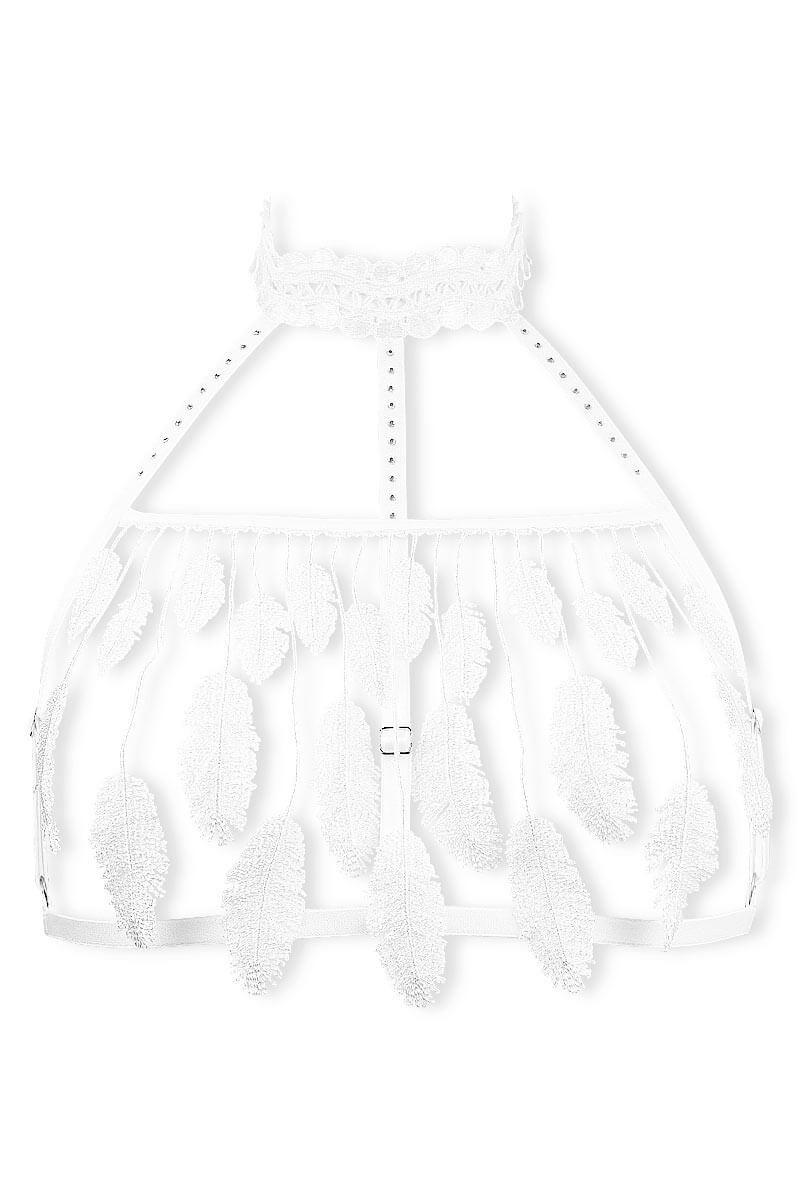 Cachou white wireless bra by Luxxa Lingerie