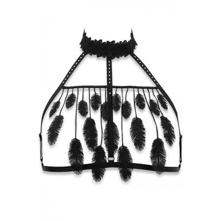 Cachou black wireless bra by Luxxa Lingerie