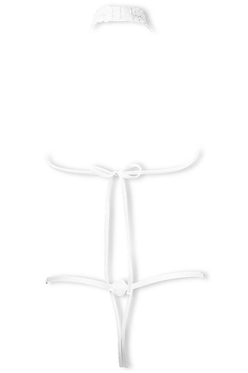 Cachou white sexy accessory body by Luxxa Lingerie