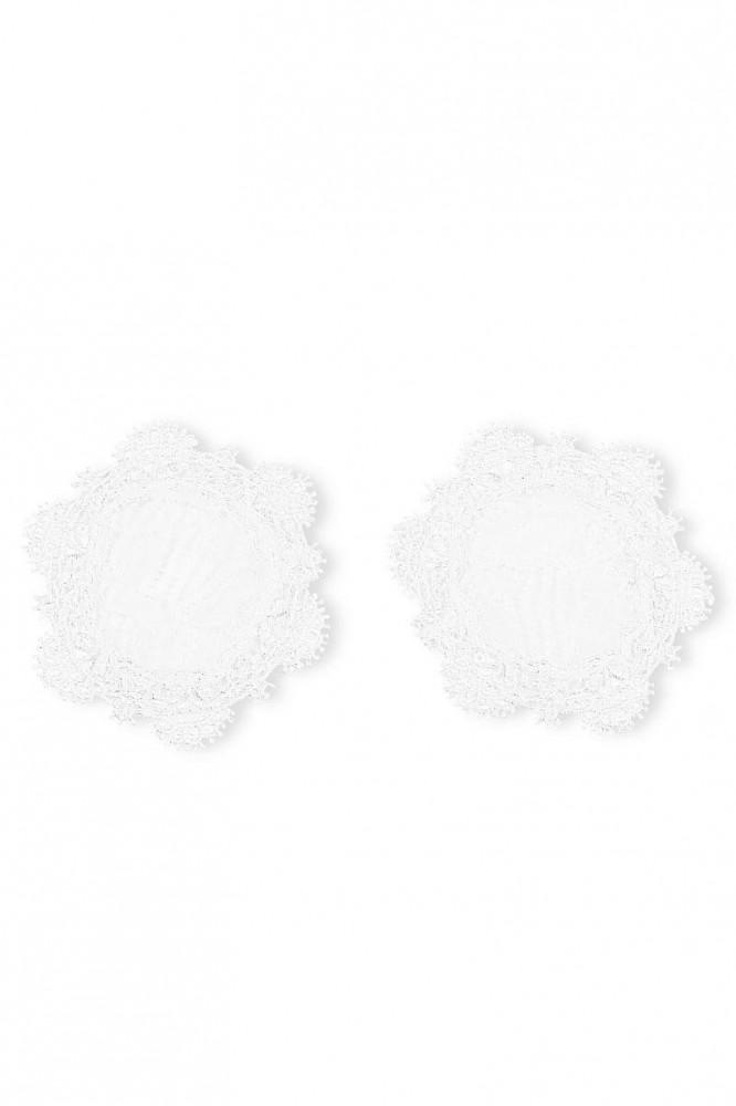 Cachou white high end nipple covers by Luxxa Lingerie