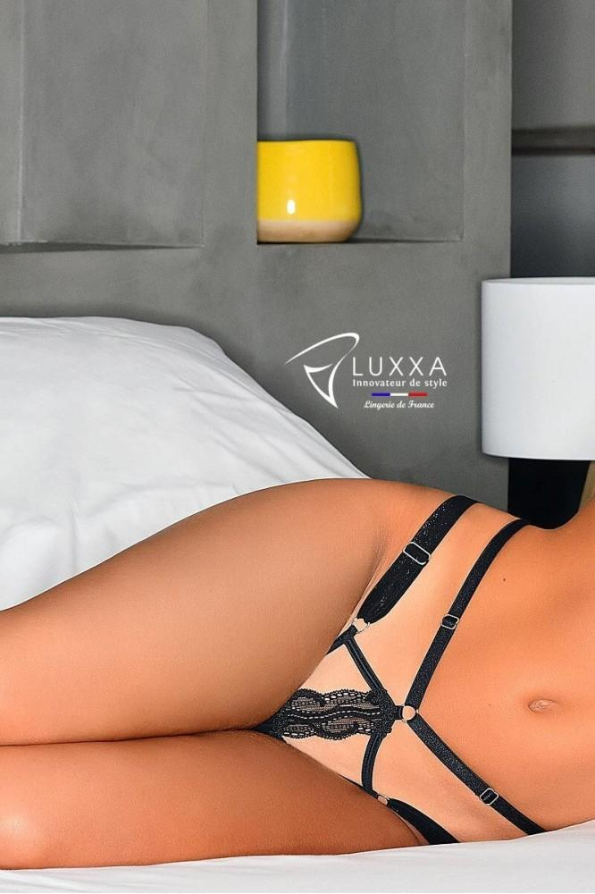Jeux Interdits adjustable straps string by Luxxa Lingerie