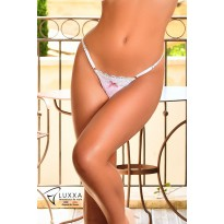 Girly low-cut thong by Luxxa Lingerie