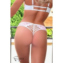 Girly laced halter back tanga by Luxxa Lingerie