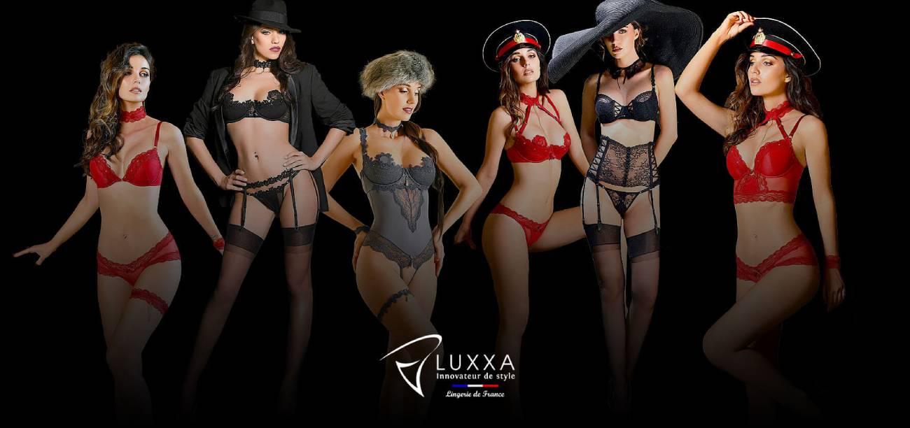 Offer a high-end lingerie set Luxxa